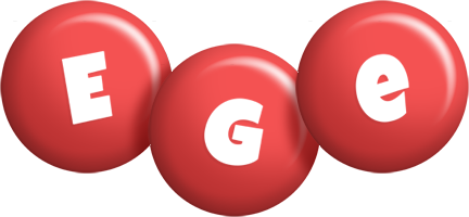 Ege candy-red logo