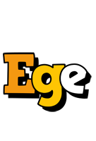 Ege cartoon logo