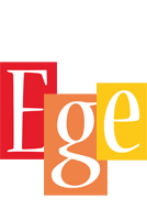 Ege colors logo