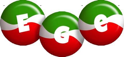 Ege italy logo