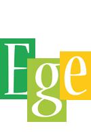 Ege lemonade logo