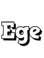 Ege snowing logo