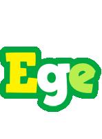 Ege soccer logo