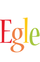 Egle birthday logo