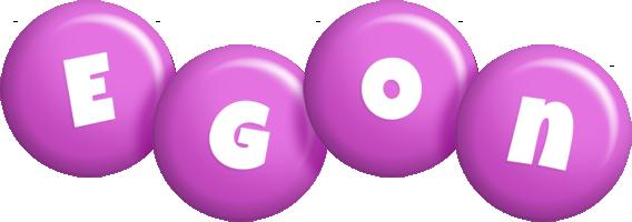 Egon candy-purple logo