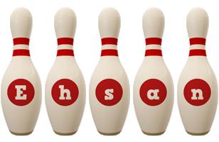 Ehsan bowling-pin logo