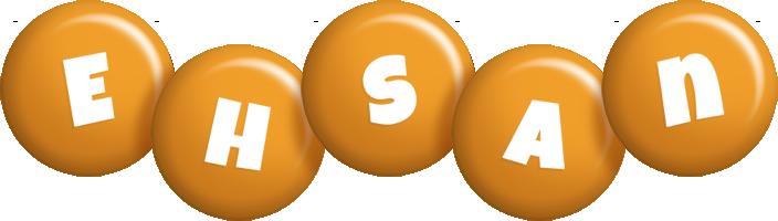 Ehsan candy-orange logo