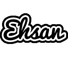 Ehsan chess logo
