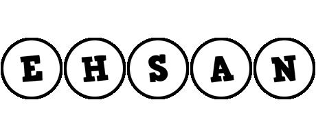 Ehsan handy logo
