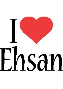 Ehsan i-love logo
