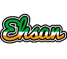 Ehsan ireland logo