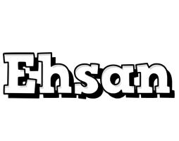 Ehsan snowing logo