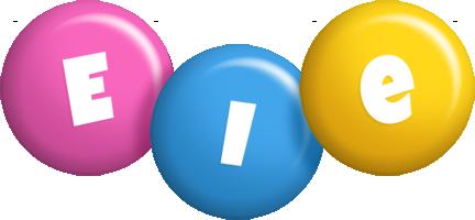 Eie candy logo