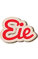 Eie chocolate logo