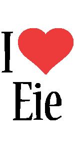 Eie i-love logo