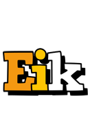 Eik cartoon logo