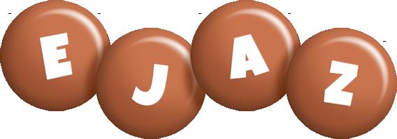 Ejaz candy-brown logo