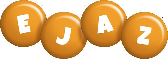 Ejaz candy-orange logo