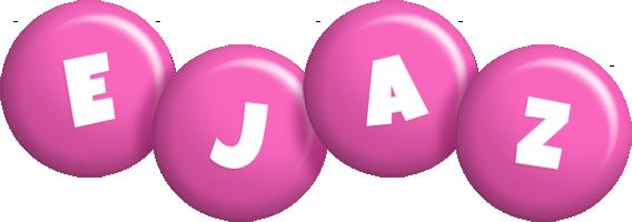 Ejaz candy-pink logo