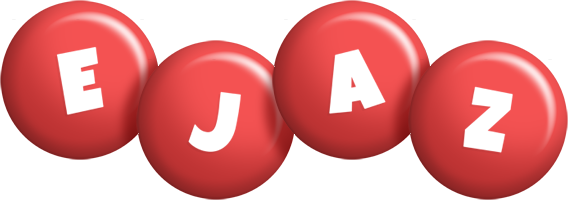 Ejaz candy-red logo