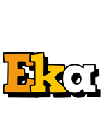 Eka cartoon logo