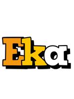Eka cartoon logo