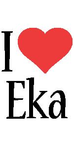 Eka i-love logo