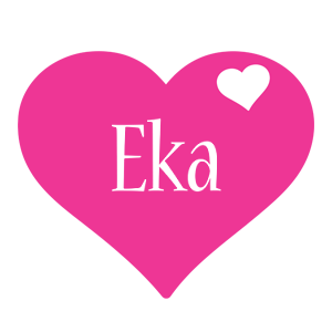Eka love-heart logo