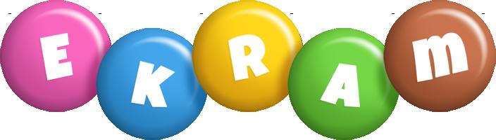 Ekram candy logo
