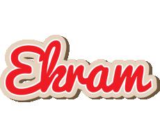 Ekram chocolate logo