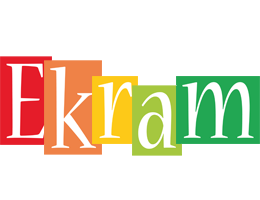 Ekram colors logo