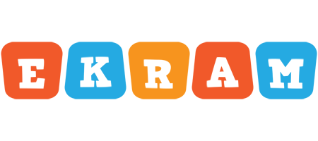 Ekram comics logo