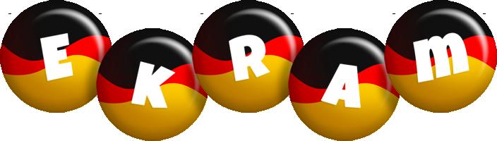 Ekram german logo