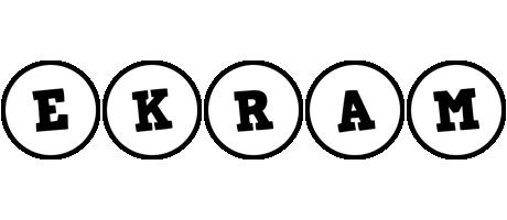 Ekram handy logo