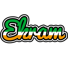 Ekram ireland logo