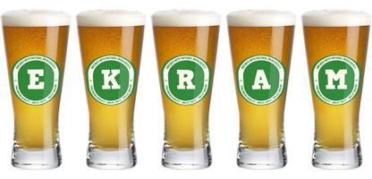 Ekram lager logo
