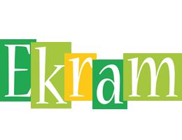 Ekram lemonade logo