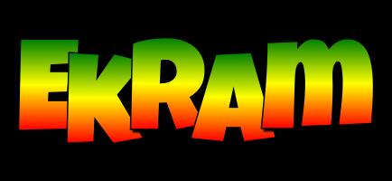 Ekram mango logo