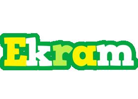 Ekram soccer logo