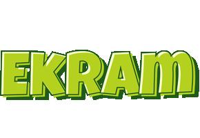Ekram summer logo