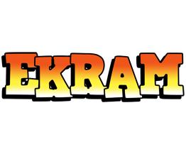 Ekram sunset logo