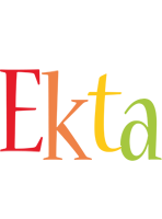 Ekta birthday logo