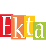Ekta colors logo