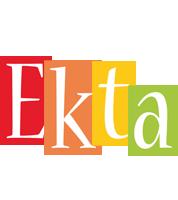 Ekta colors logo