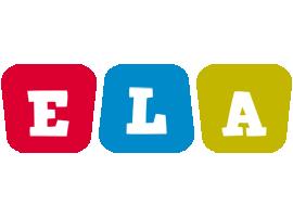 Ela kiddo logo