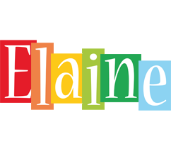 Elaine colors logo
