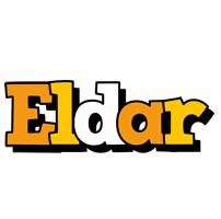 Eldar cartoon logo