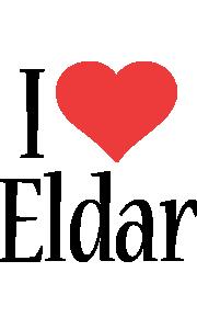 Eldar i-love logo