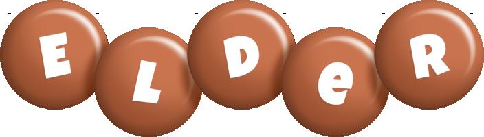 Elder candy-brown logo