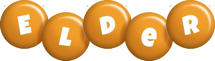 Elder candy-orange logo